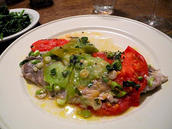 bluefish_with_tomatoes_radish_greens