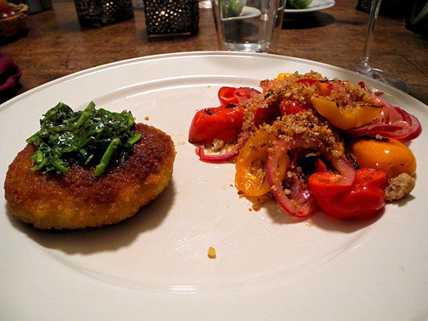 crab_cake_caramelized_peppers_and_onion