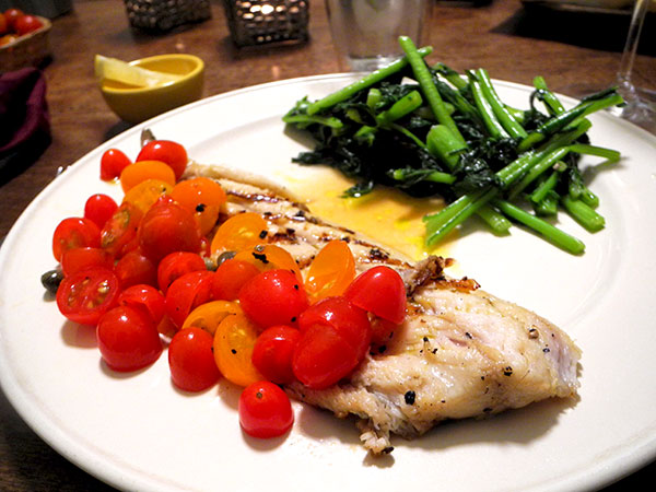 mackerel_tomato-caper_sauce_rabe