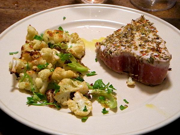 tuna_with_fennel_seed_cauliflower