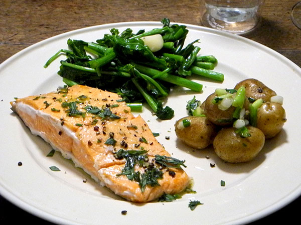 salmon_potato_rapini