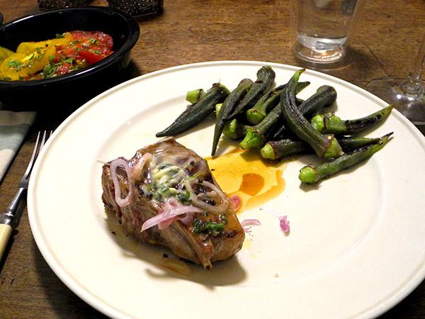 lamb_chop_okra_tomatoes