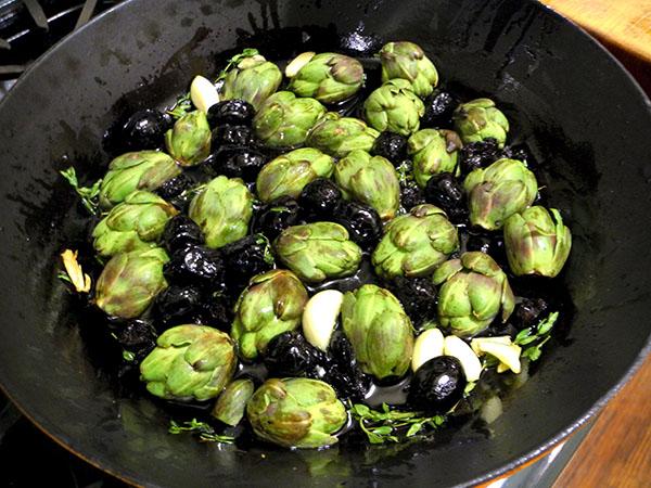 artichoke_olive_tomato_saute