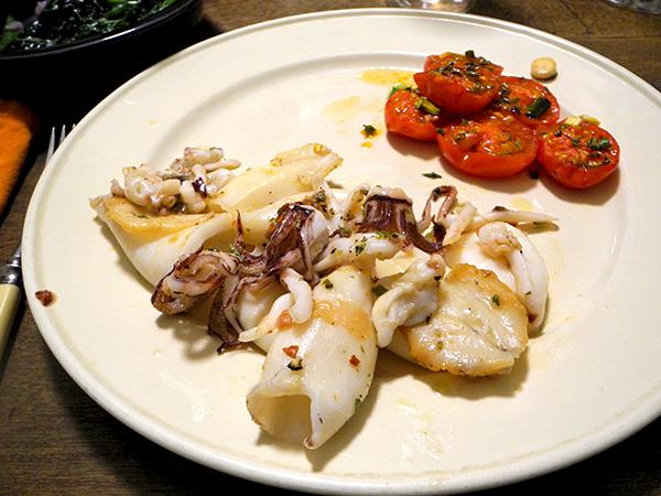 squid_tomato_mustard_greens