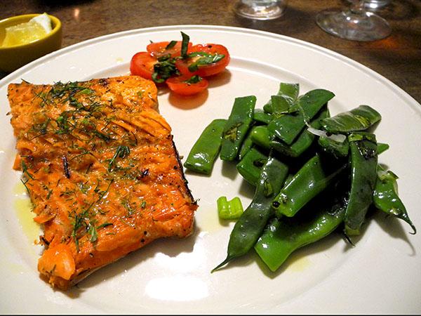 salmon_pole_beans_tomato