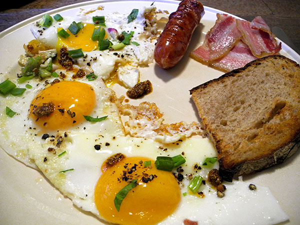 eggs_kielbasa_bacon_herbs