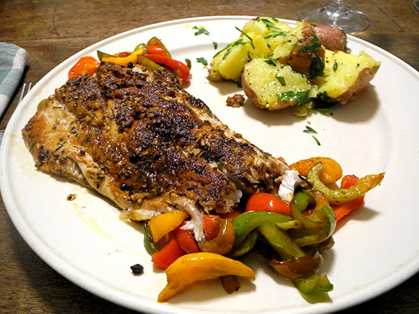 bluefish_peppers_potatoes