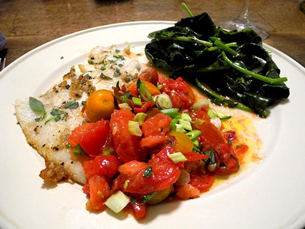 flounder_tomato_butter_spigarello